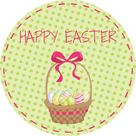 Easter Basket Napkin Knot (Qty:10)