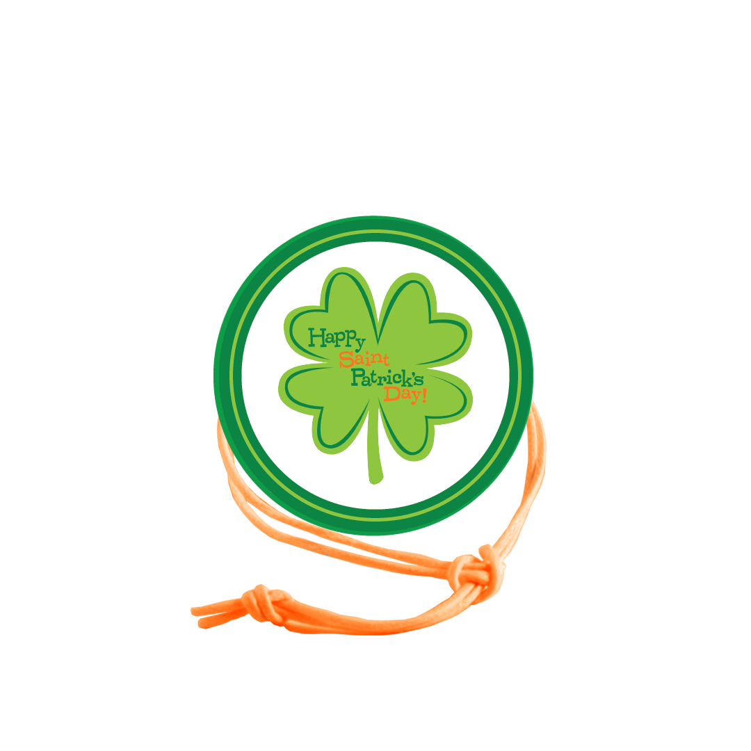 St. Patrick's Day Napkin Knot - Circle Border (Qty:10) Product Image