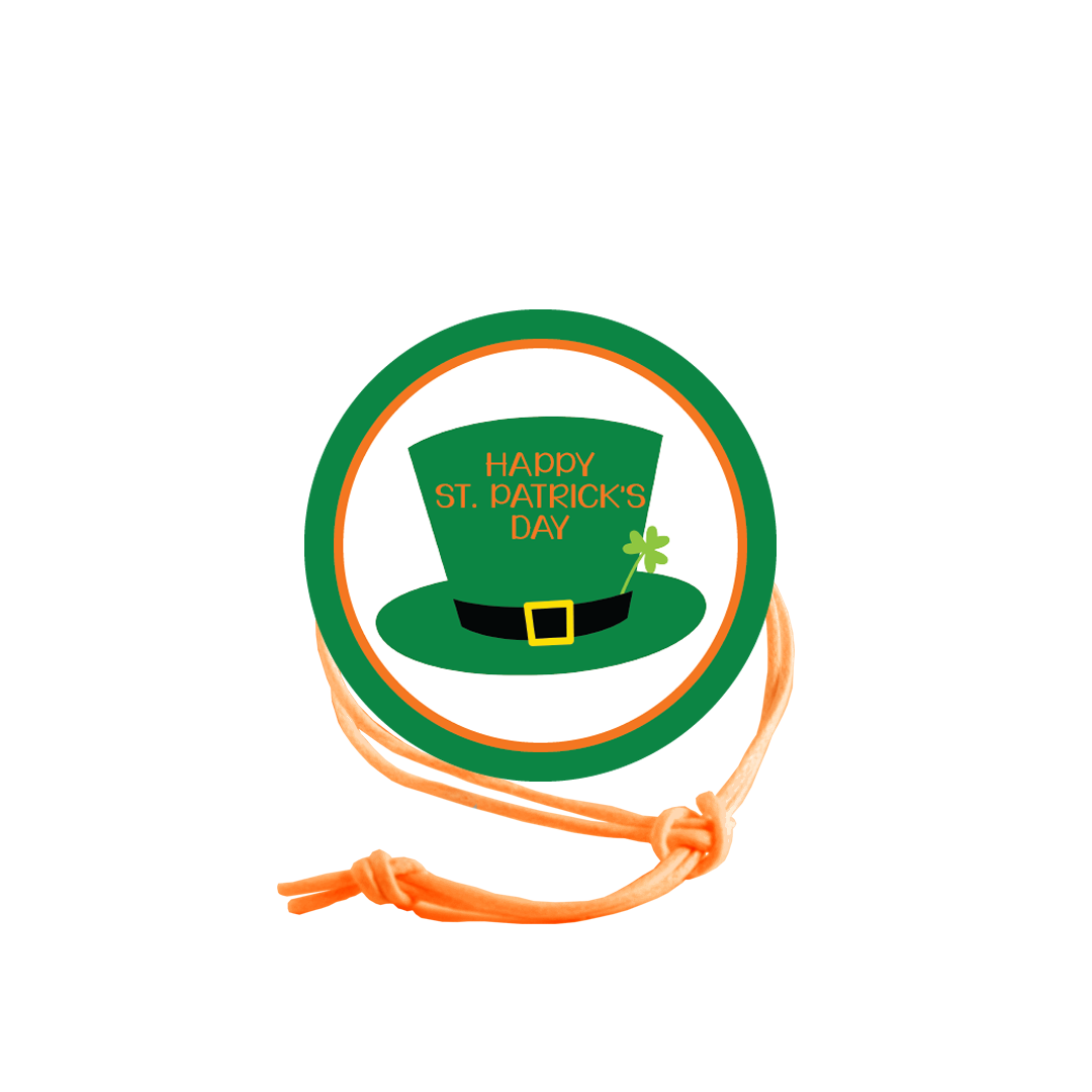 St. Patrick's Day Napkin Knot - Hat (Qty:10) Product Image