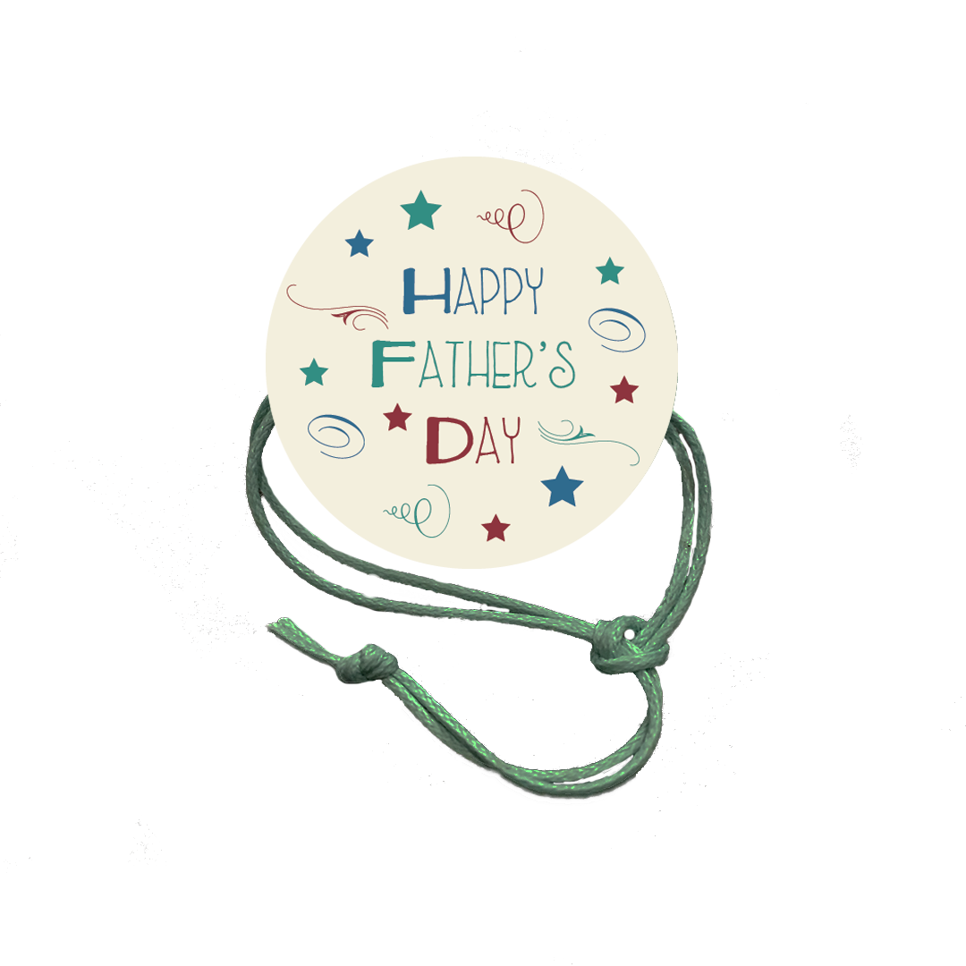 Father's Day Napkin Knot - Happy Father's Day (Qty:10) Product Image