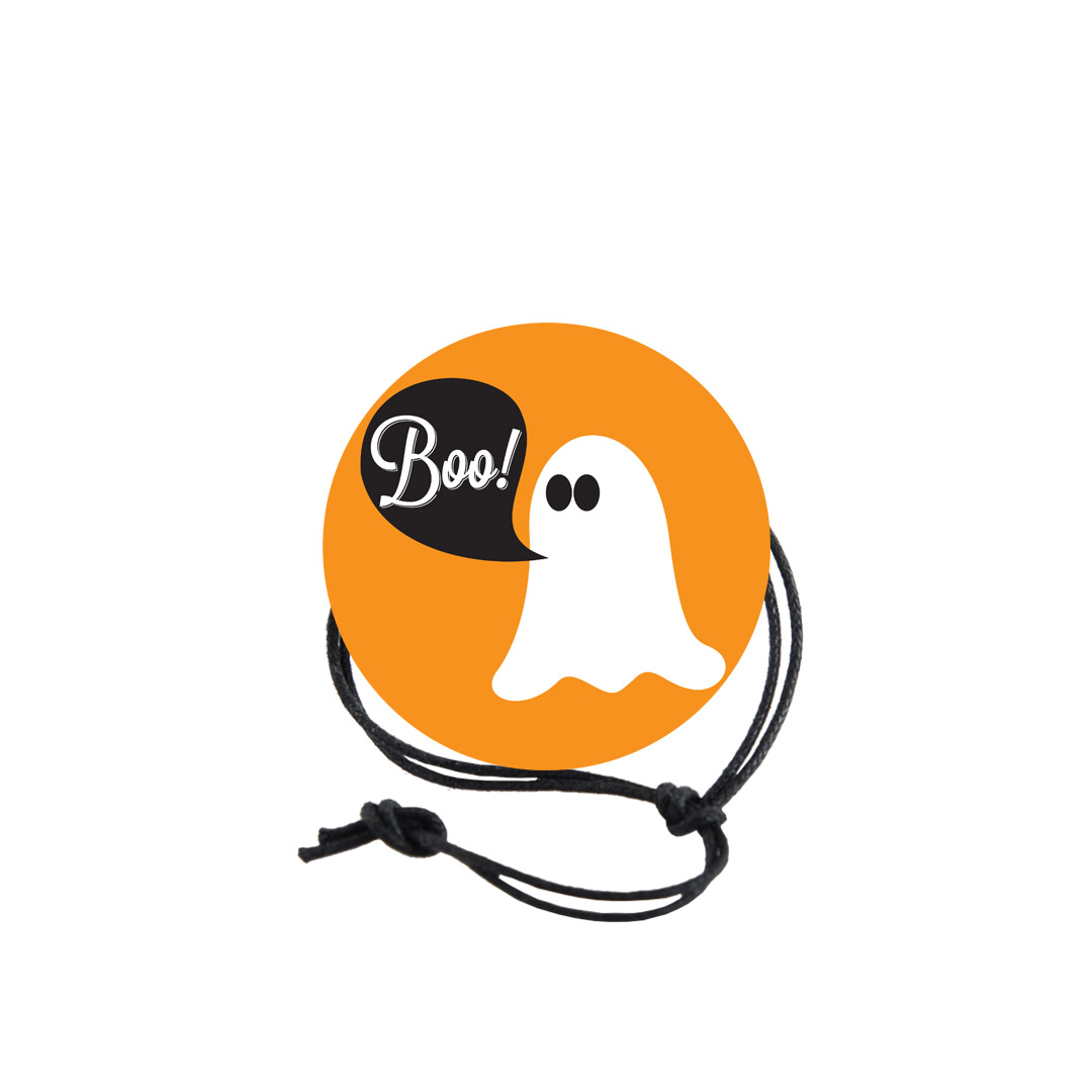 Halloween Napkin Knot - Ghost (Qty:10) Product Image