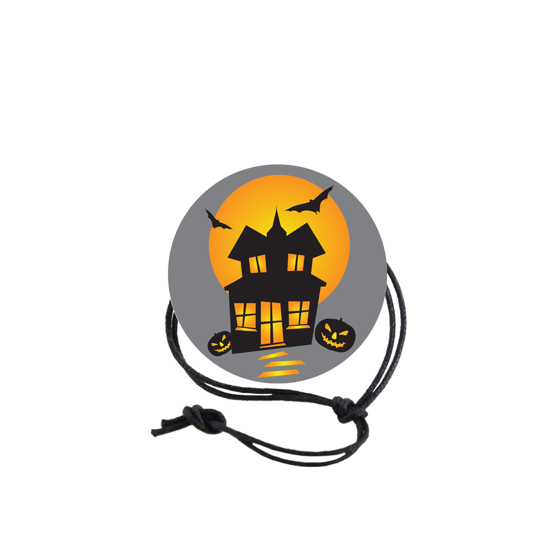 Halloween Napkin Knot - Haunted House (Qty:10) Product Image