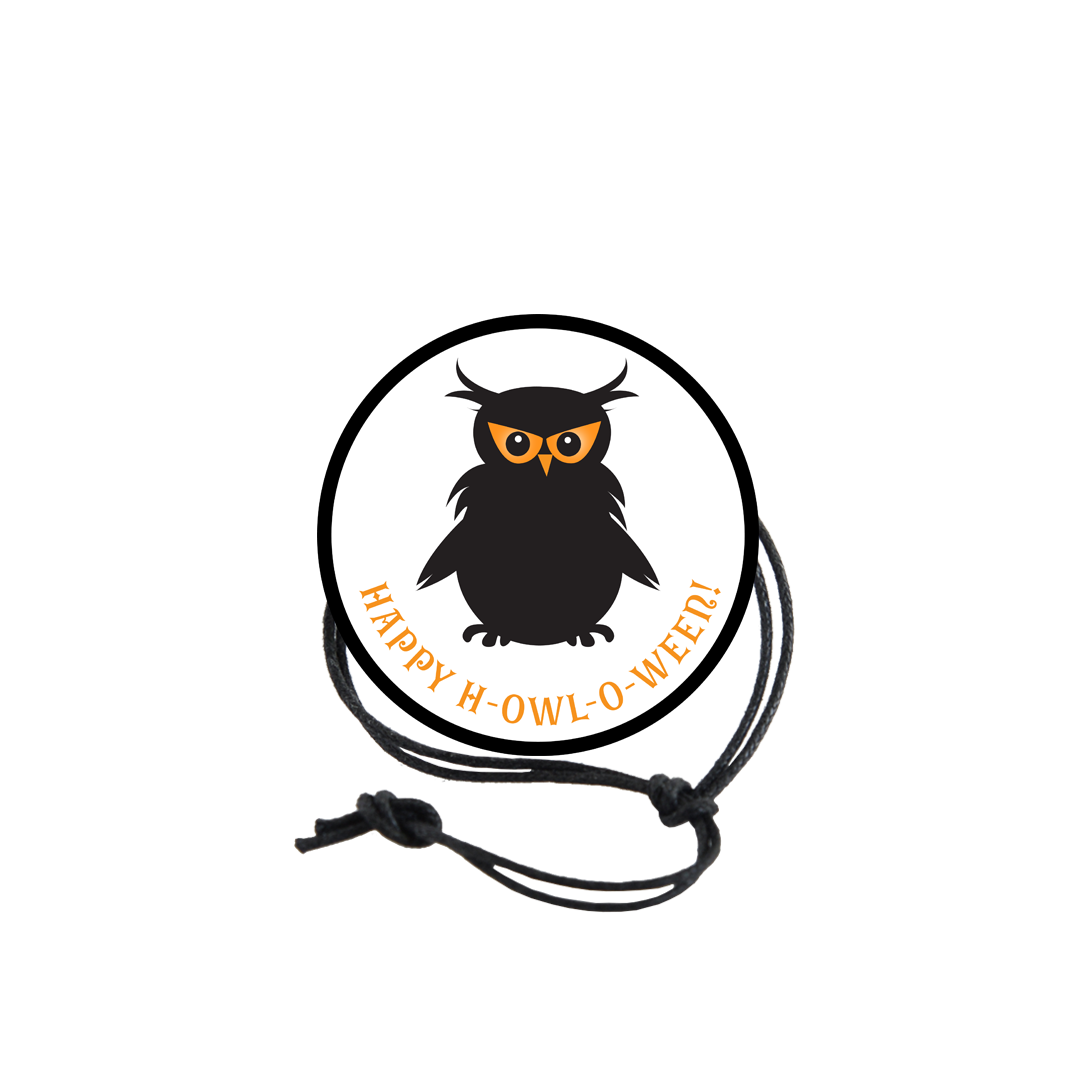 Halloween Napkin Knot - Owl (Qty:10) Product Image