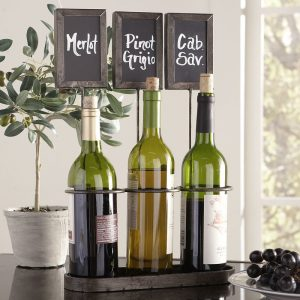 Joss & Main Chalkboard Wine Rack