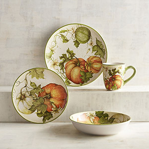 Pier One Imports Harvest Green Dinnerware