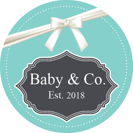 Baby Shower - Baby & Co Tiffany Blue (Qty:10)