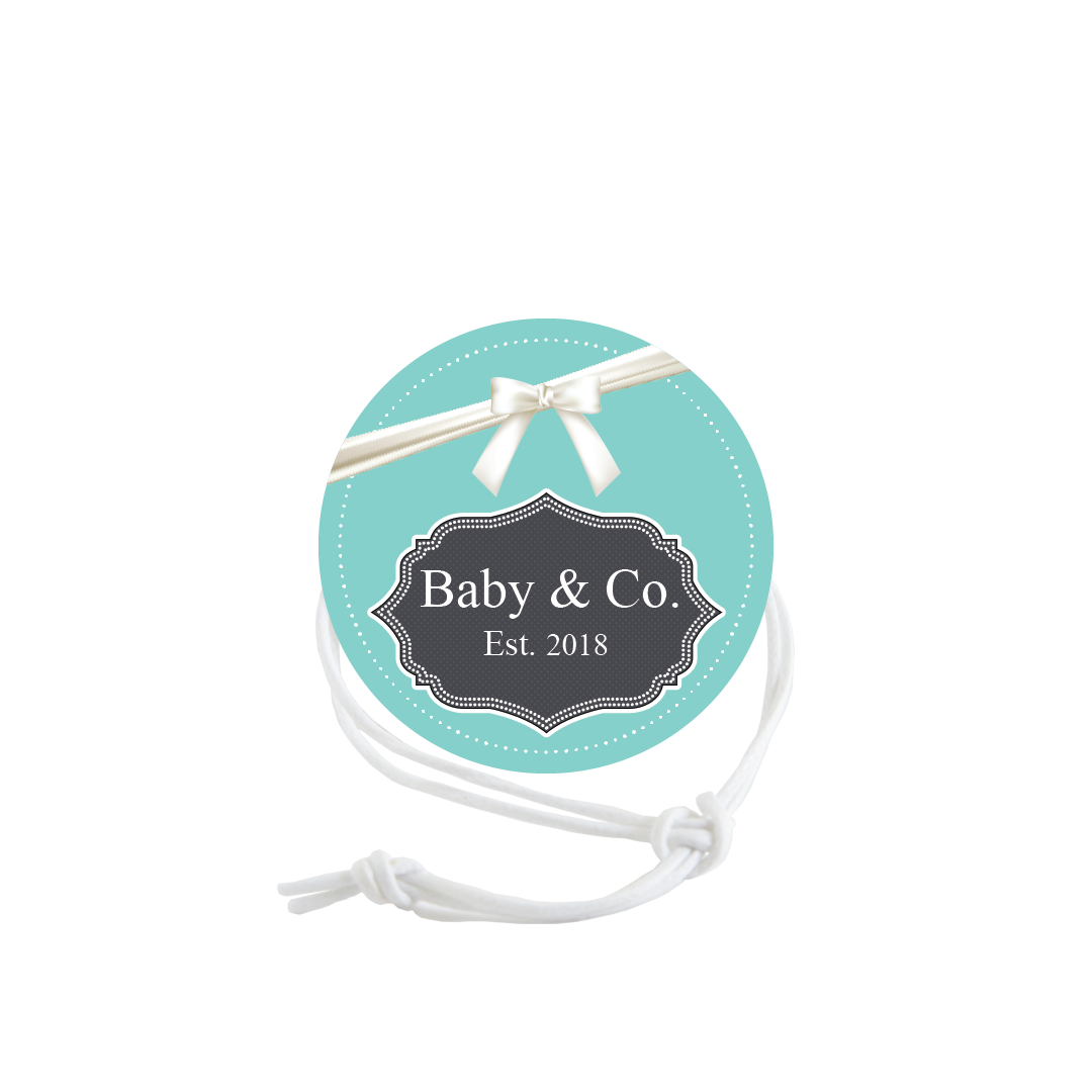 Baby Shower - Baby & Co Tiffany Blue (Qty:10) Product Image
